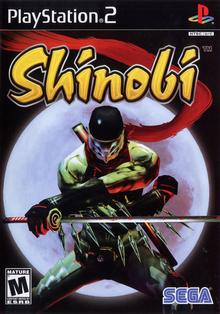 Box art for the game Shinobi (2002)