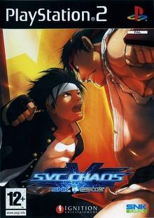 Box art for the game SVC Chaos: SNK vs. Capcom