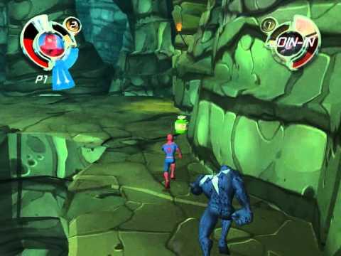 [<b>PS</b><b>2</b>] <b>Spider</b>-<b>Man</b>: <b>Friend</b> <b>or</b> <b>Foe</b> [Full RUS/ENG|NTSC] [GameBox]