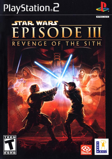 Box art for the game Star Wars: Episode III: Revenge of the Sith