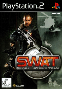 Box art for the game SWAT: Global Strike Team