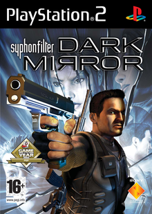 Box art for the game Syphon Filter: Dark Mirror