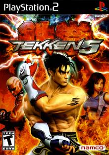 Box art for the game Tekken 5