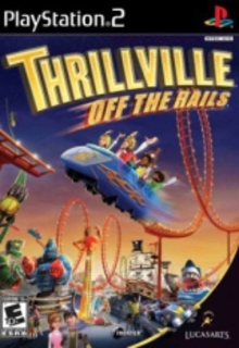 Box art for the game Thrillville: Off the Rails