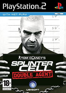 Box art for the game Tom Clancy's Splinter Cell Double Agent