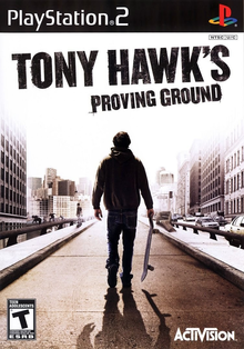 Box art for the game Tony Hawk's Proving Ground