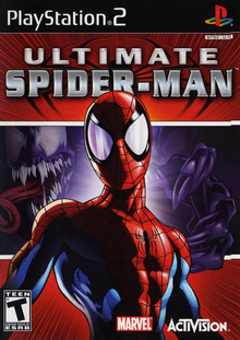 Capa do jogo Ultimate Spider-Man