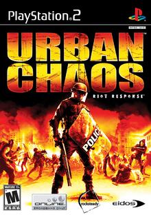 Box art for the game Urban Chaos: Riot Response