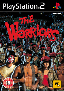 Box art for the game The Warriors