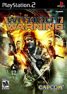 Box art for the game Without Warning