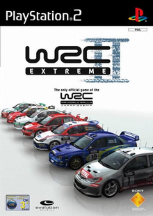 Box art for the game WRC II Extreme