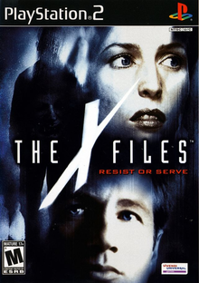 Box art for the game The X-Files: Resist or Serve