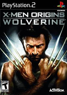Box art for the game X-Men Origins: Wolverine