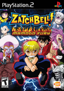 Box art for the game Zatch Bell! Mamodo Fury