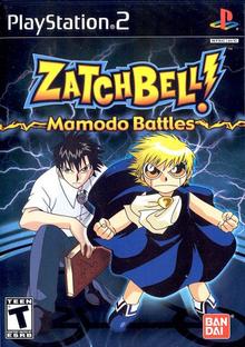 Box art for the game Zatch Bell!: Mamodo Battles