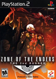 Box art for the game Zone of the Enders: The 2nd Runner