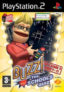 Box art for the game Buzz! The Schools Quiz