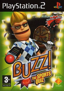 Box art for the game Buzz! The Sports Quiz