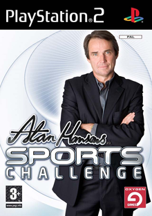 Box art for the game Alan Hansen's Sports Challenge