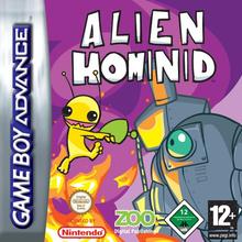 Box art for the game Alien Hominid