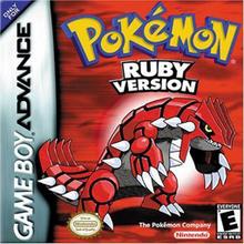 Box art for the game Pokémon Ruby