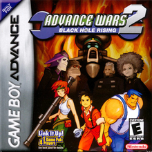 Box art for the game Advance Wars 2: Black Hole Rising