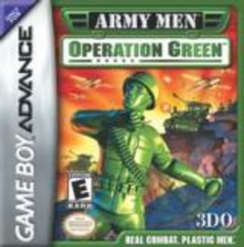 Box art for the game Army Men: Operation Green