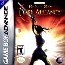 Box art for the game Baldur's Gate: Dark Alliance