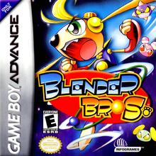 Box art for the game Blender Bros.