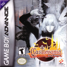 Box art for the game Castlevania: Aria of Sorrow