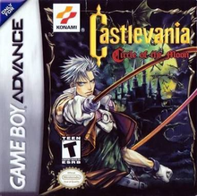 Box art for the game Castlevania: Circle of the Moon