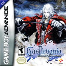 Box art for the game Castlevania: Harmony of Dissonance