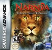 Box art for the game The Chronicles of Narnia: The Lion Witch and The Wardrobe, The