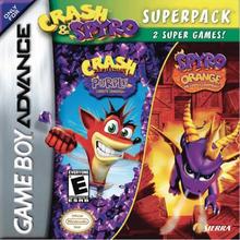 Box art for the game Crash & Spyro Superpack