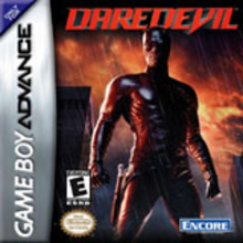 Box art for the game Daredevil: The Man Without Fear