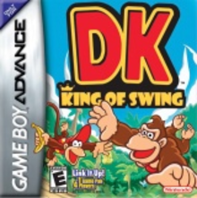 Box art for the game DK: King of Swing