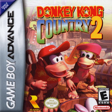 Box art for the game Donkey Kong Country 2