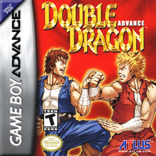 Box art for the game Double Dragon Advance