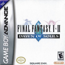 Box art for the game Final Fantasy I & II: Dawn of Souls