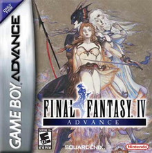 Box art for the game Final Fantasy IV Advance