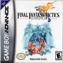 Capa do jogo Final Fantasy Tactics Advance