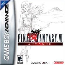 Capa do jogo Final Fantasy VI Advance
