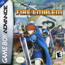 Box art for the game Fire Emblem