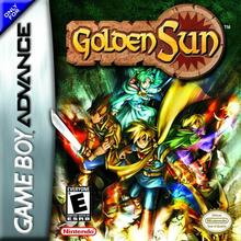 Box art for the game Golden Sun