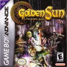 Box art for the game Golden Sun: The Lost Age