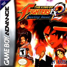 Box art for the game The King of Fighters EX2: Howling Blood