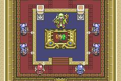 The Legend of Zelda: A Link to the Past w/ the Four Swords - Gameboy
