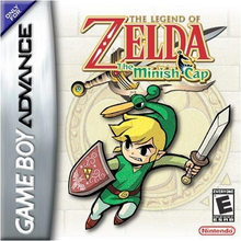 Box art for the game The Legend of Zelda: The Minish Cap