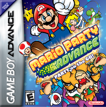 Box art for the game Mario Party Advance