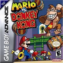 Box art for the game Mario vs. Donkey Kong